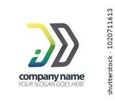 initial letter speed logo | Shutterstock .eps vector #1020711613