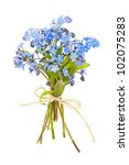 Bouquet Of Blue Wild Forget Me...