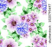 abstract elegance seamless... | Shutterstock .eps vector #1020795697