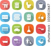 flat vector icon set   factory... | Shutterstock .eps vector #1020813667