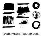 hand drawn scribble symbols...   Shutterstock .eps vector #1020857083