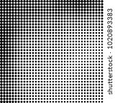halftone black and white... | Shutterstock .eps vector #1020893383