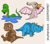 vector childrens illustration...   Shutterstock .eps vector #1020934987