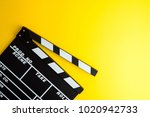 cinema minimal concept.... | Shutterstock . vector #1020942733