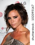 Victoria Beckham At The Lg ...