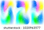 soft multi colored gradient...