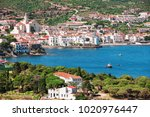 spain. catalonia. cadaques on... | Shutterstock . vector #1020976447