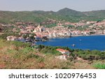 spain. catalonia. cadaques on... | Shutterstock . vector #1020976453