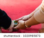 hand of people are doing... | Shutterstock . vector #1020985873