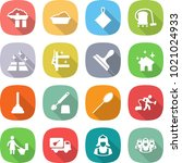 flat vector icon set   factory... | Shutterstock .eps vector #1021024933