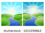 set of illustrations with...   Shutterstock .eps vector #1021058863