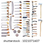 large colored collection of a... | Shutterstock .eps vector #1021071607