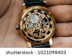 Mechanism Clockwork A Watch Jewels - Fine Art prints