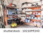 krasnodar  russia   october 18  ... | Shutterstock . vector #1021099243