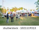 abstract blur people in day... | Shutterstock . vector #1021119313