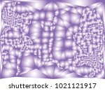 abstract violet background with ... | Shutterstock .eps vector #1021121917