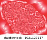 abstract red background with... | Shutterstock .eps vector #1021123117