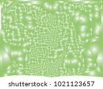 abstract green background with... | Shutterstock .eps vector #1021123657
