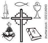 Christian Hand Drawn Symbols...