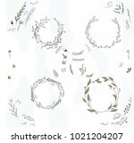 a set of vector objects for... | Shutterstock .eps vector #1021204207