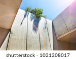concrete and cement structure ... | Shutterstock . vector #1021208017