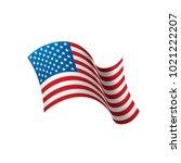 usa flag isolated   Shutterstock .eps vector #1021222207