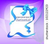 happy white paper card vector...   Shutterstock .eps vector #102122923