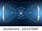 sci fi concept hud interface...