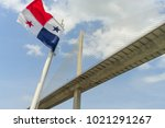 panama canal  panama   april 13 ...   Shutterstock . vector #1021291267
