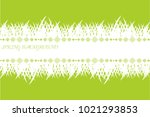spring banner with grass. green ... | Shutterstock .eps vector #1021293853
