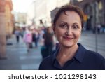 professional headshot of a...   Shutterstock . vector #1021298143