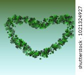 clover green is a confetti... | Shutterstock .eps vector #1021324927