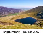 Small photo of Aerial view of Bowscale Tarn in the English Lake District, UK.