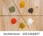 various and miscellaneous... | Shutterstock . vector #1021366837
