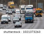 watford  uk   february 8  2018  ... | Shutterstock . vector #1021373263