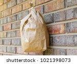 artificial bee  warps hive made ... | Shutterstock . vector #1021398073