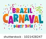 carnival event with colorful...   Shutterstock .eps vector #1021428247