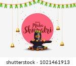 illustration of happy maha...   Shutterstock .eps vector #1021461913