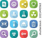 flat vector icon set   search... | Shutterstock .eps vector #1021490563