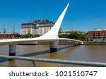 buenos aires  argentina  ... | Shutterstock . vector #1021510747