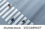 from the top view of people... | Shutterstock . vector #1021689637