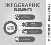 business infographics design.... | Shutterstock .eps vector #1021724593