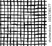 vector grid. the seamless black ... | Shutterstock .eps vector #1021738177