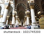 medina  saudi arabia   december ...   Shutterstock . vector #1021745203