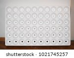 styrofoam and holes | Shutterstock . vector #1021745257