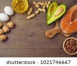 ketogenic low carbs diet... | Shutterstock . vector #1021746667