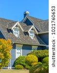 a perfect neighborhood. houses... | Shutterstock . vector #1021760653