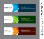 modern banner background vector ... | Shutterstock .eps vector #1021816087