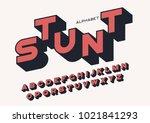 styled sans serif bold letters... | Shutterstock .eps vector #1021841293
