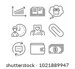 set of love mail  update... | Shutterstock .eps vector #1021889947
